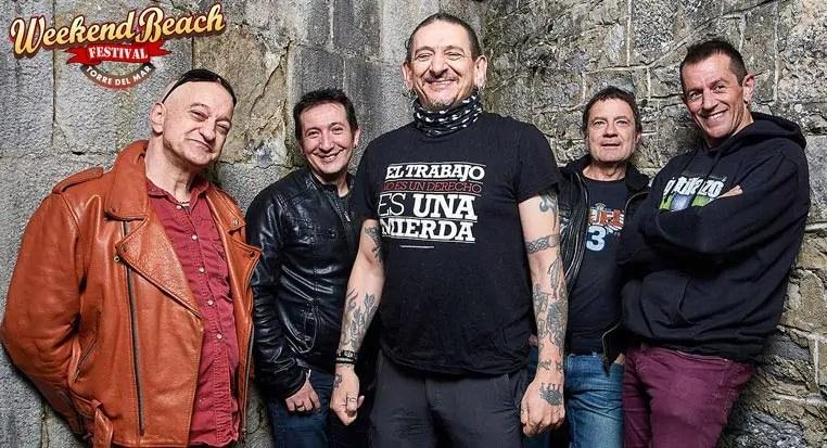 Evaristo Páramos cantante de La Polla Records