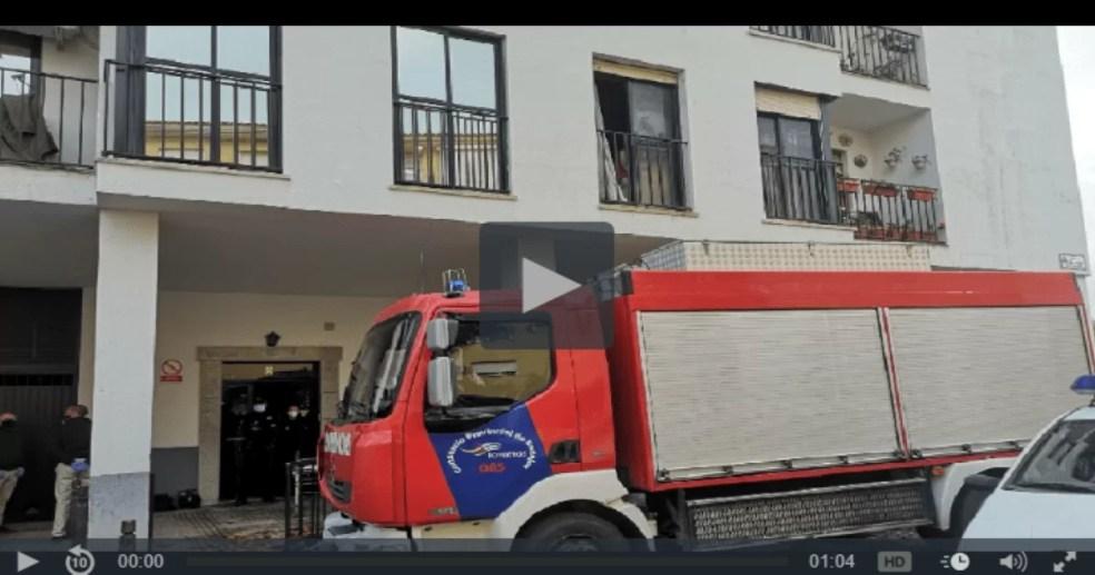 Fallece una mujer en un incendio en Mérida