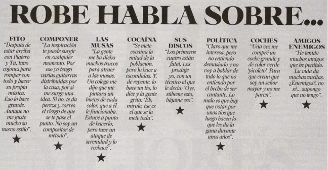 Roberto Iniesta cantante de Extremoduro