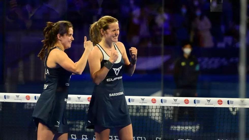 La Extremeña Paula Josemaría y Ari Sánchez se cuelan en la final