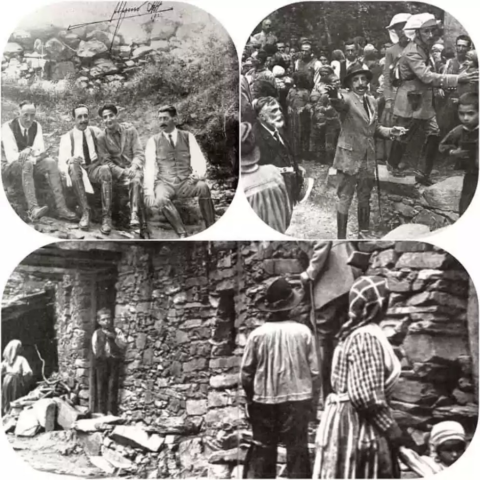 Fotógrafo en el viaje de Alfonso XIII a Las Hurdes