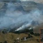 Extinguido incendio de Calzadilla y en fase de control el de Guijo de Coria