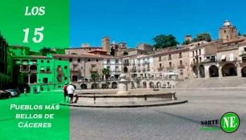 Los 15 pueblos más bellos de Cáceres