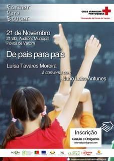 """Adiado Seminário """"De Pais para Pais"""" com Nuno Lobo Antunes"""