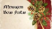 Mensagem BOAS FESTAS Site