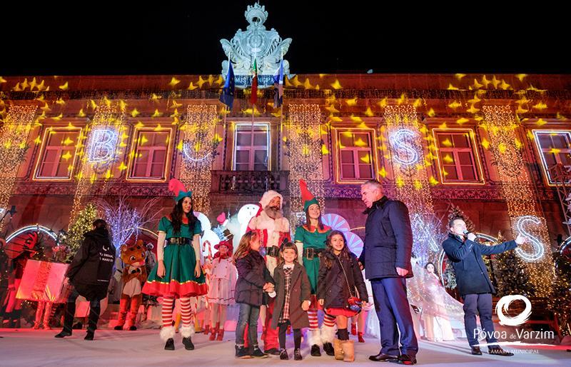 …e o Natal chegou à Póvoa de Varzim!