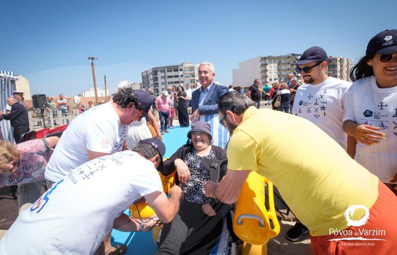 In Póvoa: Praia para todos
