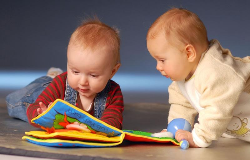 Os brinquedos certo para cada idade