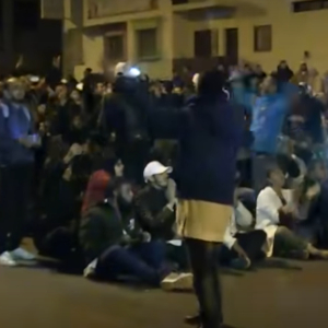 Morocco: Teachers take to the streets of Rabat to demand better conditions