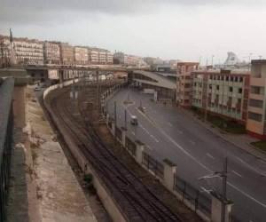 Algeria: The empty streets of Algiers