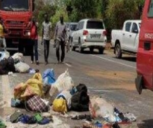 Mali: Bus crash kills 20 people near Narena