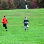 Cross-country race at Oakland School