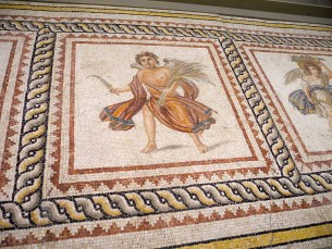 Mosaic from a hallway floor, 2nd-3rd century