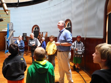 Professor Murphy talks about the dome