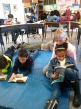 Reading in the Junior room