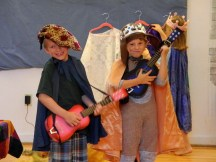 The lute player and the Prince