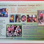 Ancient Wisdom Summer Camps 2017