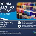 Tax Free Weekend for School Supplies, 8/2-4/19