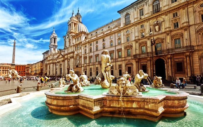 путешествие с детьми в Италии в Риме
