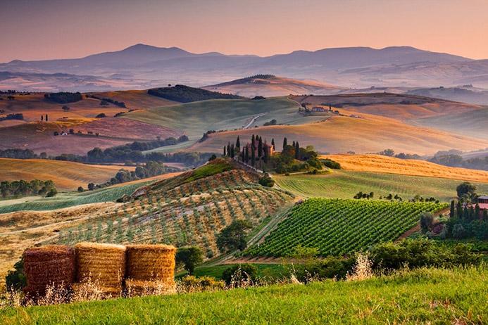 интересные достопримечательности в северной Италии Тоскана