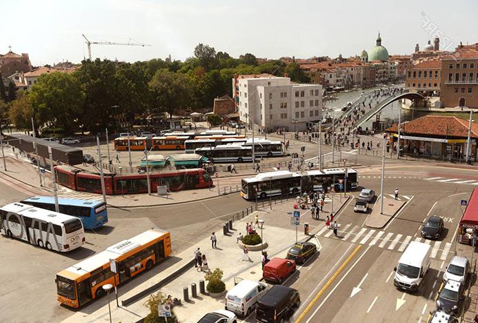 Парковки в Венеции