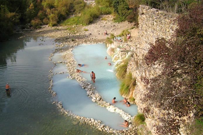 бесплатные термальные курорты в Италии Термы Петриоло
