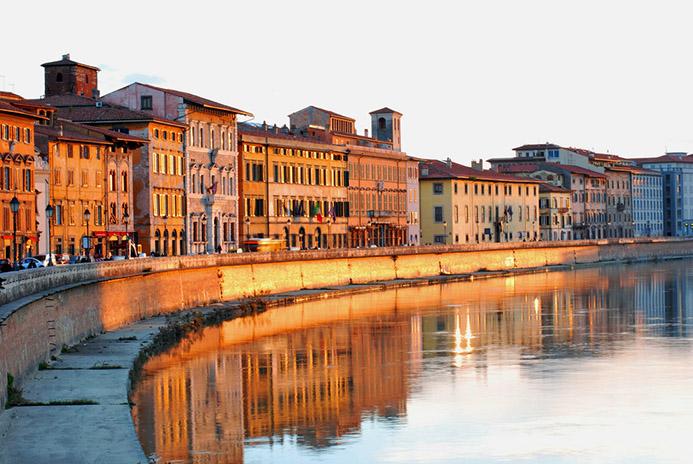 что посмотреть за 1 день в Италии Тоскана Пиза