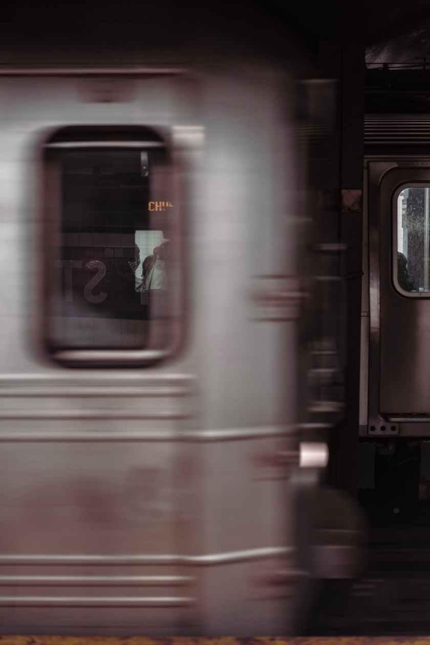 moving train photo