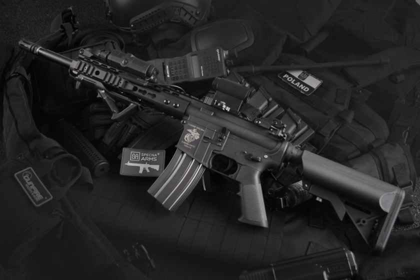black rifle