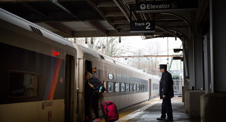 NJ Transit Platform