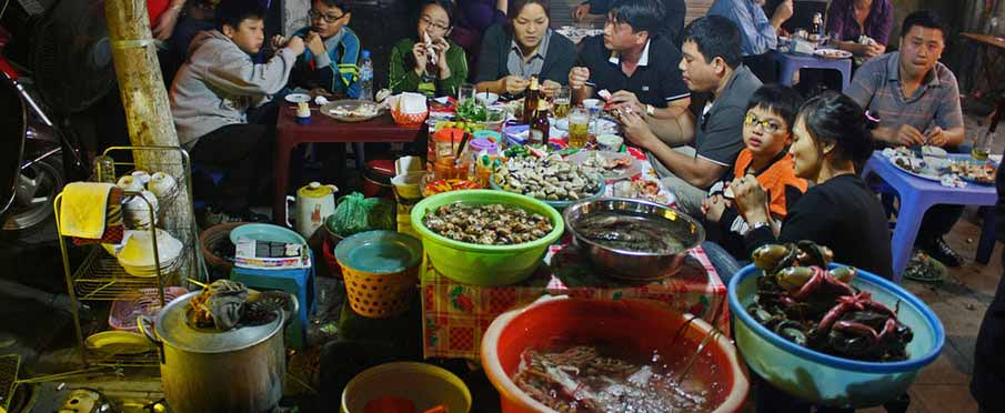 Image result for hanoi street food images