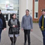 College students seal places at world-leading universities