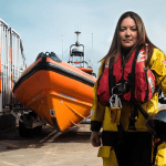 North Wales solicitor makes history becoming RNLI station's first female helmsman