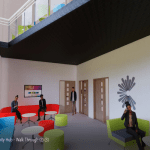 North Wales college reveals first images of new rural community hub