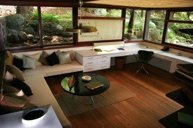 Manitoga studio interior