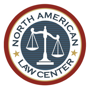 The Logo of the North American Law Center, NALC