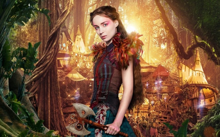 Rooney Mara As Tiger Lily