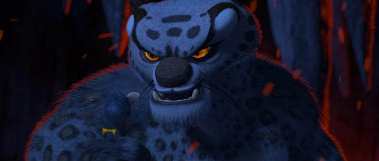 The hateful, power-hungry and vengeful Tai Lung (Ian McShane)