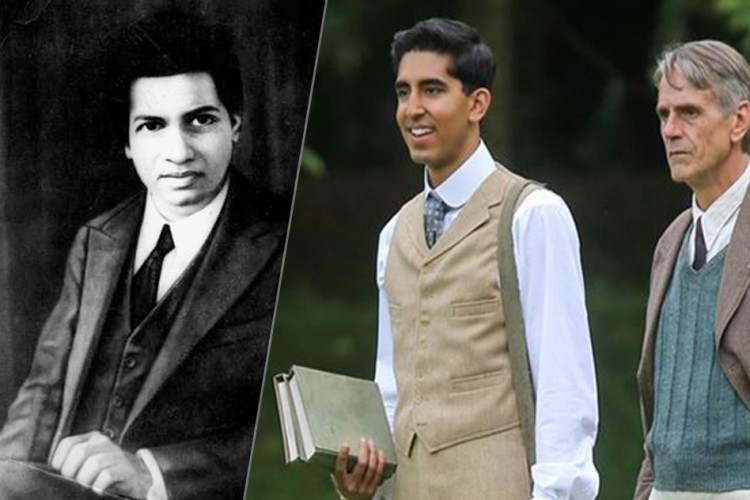 The Real Ramanujan/Ramanujan (Dev Patel) and Hardy (Irons)
