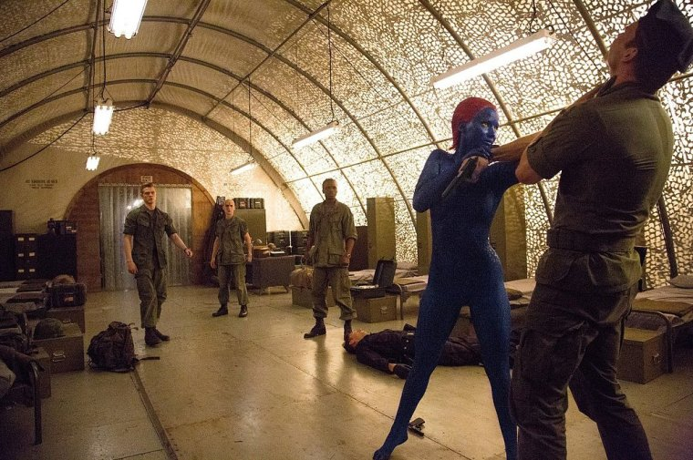 Mystique (Lawrence) in Vietnam (X-Men: Days Of Future Past, 20th Century Fox, Marvel Entertainment)