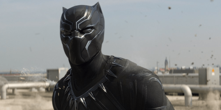 Chadwick Boseman's T'Challa/Black Panther (Captain America: Civil War, Marvel Studios)