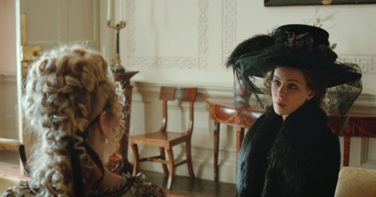 Kate Beckinsale as the cunning and calculating Lady Susan Vernon (Love & Friendship,