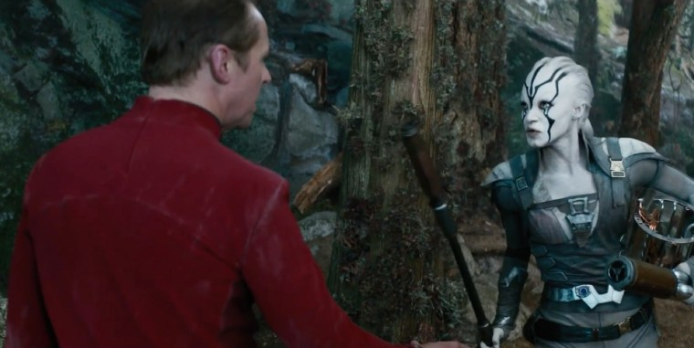 When Scotty meets Jaylah; a love story (Star Trek: Beyond, Paramount Pictures)