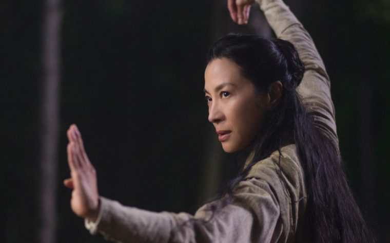 Lotus (Yeoh) is the one true badass of the martial arts genre (Marco Polo, Netflix)
