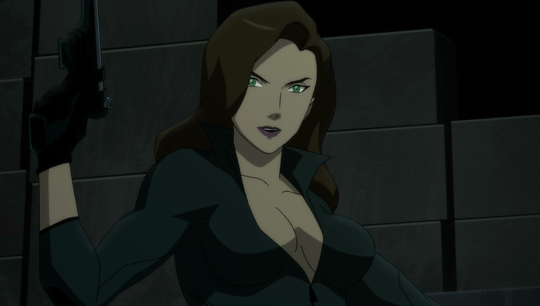 Daughter Of The Demon, Talia Al-Ghul (Morena Baccarin) (Son Of Batman, Warner Bros Animation)