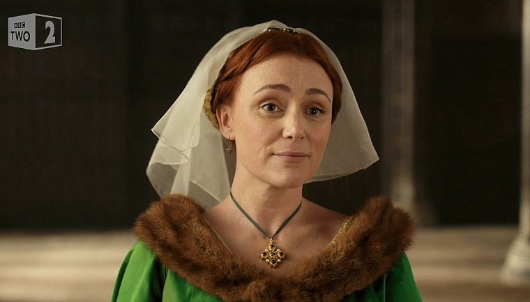 Keeley Hawes as the Lancastrian, Elizabeth Woodville (The Hollow Crown, BBC Two)