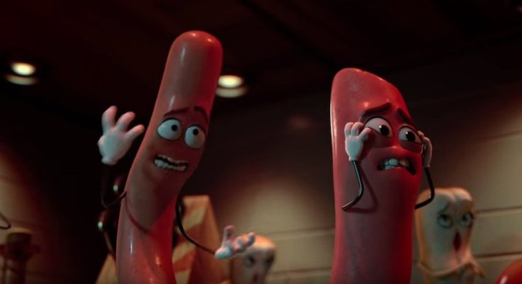Despite the shits, fucks and cunts, Sausage Party tells some hard truths about our world (Sausage Party, Columbia Pictures)