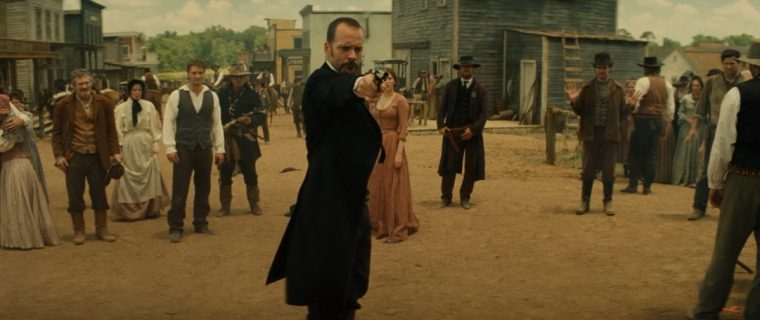 Bar Bo calls himself an industrialist, but in reality, he's a glorified gangster (Magnificent Seven, Sony Pictures Entertainment)