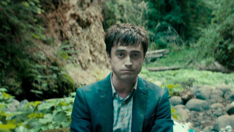 Daniel Radcliffe plays water-infested corpse Manny in Swiss Army Man (Swiss Army Man, Picturehouse Entertainment)