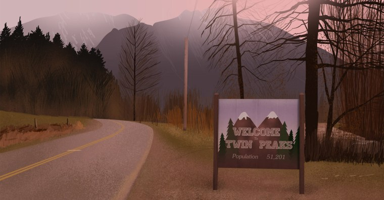 Welcome to Twin Peaks, an suspecting pot of criminal activities (Twin Peaks, ABC Studios)